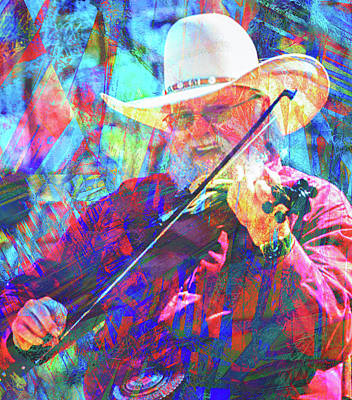Abstract Stripe Patterns - Charlie Daniels by Rob Hemphill