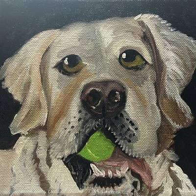 Painting - Charlie by Mary Beth D'Aloia