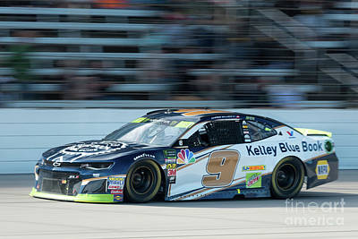 Sports Royalty-Free and Rights-Managed Images - Chase Elliott #9 by Paul Quinn