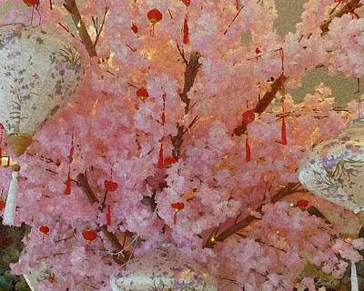 The Who - Cherry Blossom Time by Barbie Corbett-Newmin