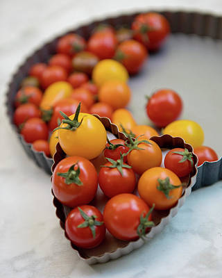 Valentines Day - Cherry Tomatoes 2 by Rebecca Cozart