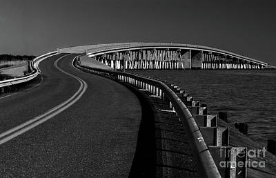 Superhero Ice Pop - Chesapeake Curved Bridge by Norma Brandsberg