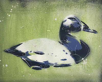 Painting - Chesapeake Decoy IV by Ryan Hopkins