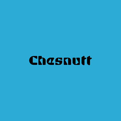 Royalty-Free and Rights-Managed Images - Chesnutt by TintoDesigns