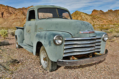 Pasta Al Dente Royalty Free Images - Chevy 3100 Series Pickup Royalty-Free Image by James Marvin Phelps