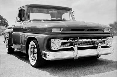 Keith Richards Royalty Free Images - Classic Chevy Truck-1 Royalty-Free Image by Rudy Umans