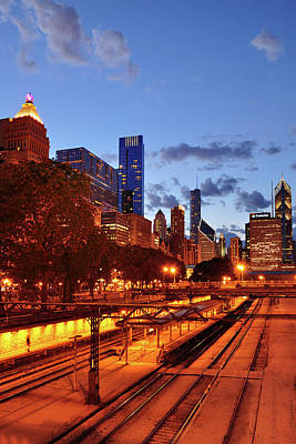 Royalty-Free and Rights-Managed Images - Chicago  Alone But Never Alone by Chicago In Photographs