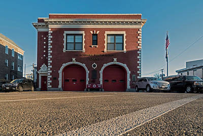 Spot Of Tea Royalty Free Images - Chicago Firehouse Royalty-Free Image by Sven Brogren