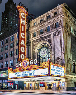 Game Of Chess - Chicago Theatre by Stephen Stookey