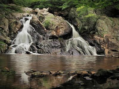 Sara Habecker Folk Print - Chikahoki - Main Falls by Bearj B Photo Art