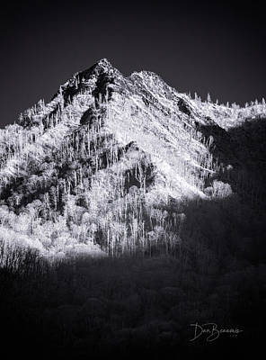 Dan Beauvais Royalty-Free and Rights-Managed Images - Chimney Tops 1182 by Dan Beauvais