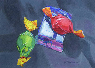 Abstract Utensils - Chocolate Anyone? by Lynne Reichhart