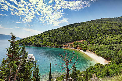 David Bowie - Chorgota beach in Kefalonia, Greece by Constantinos Iliopoulos