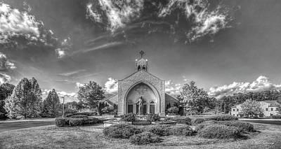 Studio Graphika Literature - Christ Our King and Savior Catholic Church  B W Lake Oconee Greene County Art by Reid Callaway