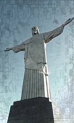 Gaugin Rights Managed Images - Christ the Redeemer Royalty-Free Image by Leonard Rosenfield