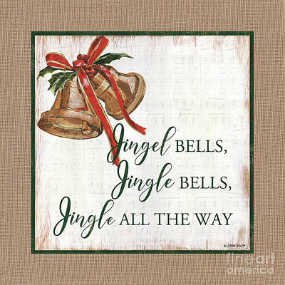 Royalty-Free and Rights-Managed Images - Christmas Bells 1 by Debbie DeWitt