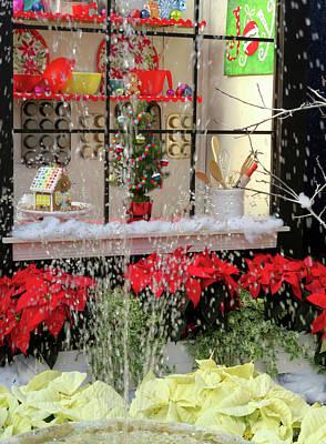 Photograph - Christmas Candy Store by Jennifer Wheatley Wolf