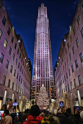 Louis Armstrong - Christmas in the City 20 - Rockefeller Center by Allen Beatty