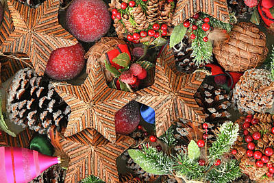 Pop Art - Christmas Ornaments Box by Robert Tubesing