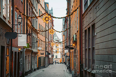 Jolly Old Saint Nick - Christmas Time in Stockholm by JR Photography
