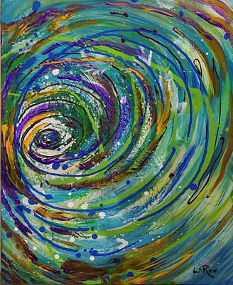 Painting - Chroma Vortex by Doug LaRue