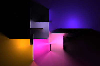 Landscape Photos Chad Dutson - Chromatic Geometry 9 by Scott Norris