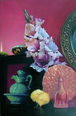 Painting - Chronicles Of Spring by Melanie Stimmell Van Latum