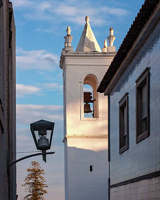 Whats Your Sign - Church Bell Tower - Tavira, Portugal by Barry O Carroll