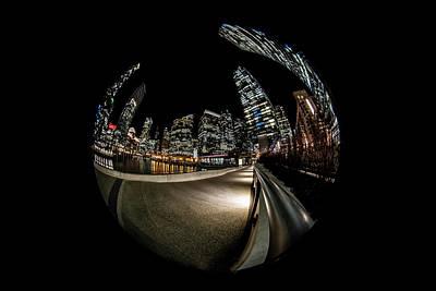 All You Need Is Love - Circular Fisheye Chicago River scene by Sven Brogren