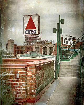 Science Collection - CITGO Sign from Fenway Park by Joann Vitali