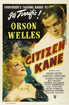 Royalty-Free and Rights-Managed Images - Citizen Kane 3, with Orson Welles, 1941 by Stars on Art