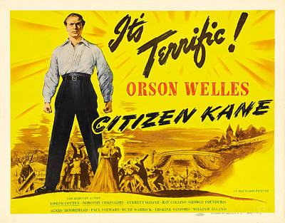 Royalty-Free and Rights-Managed Images - Citizen Kane, with Orson Welles, 1941 by Stars on Art