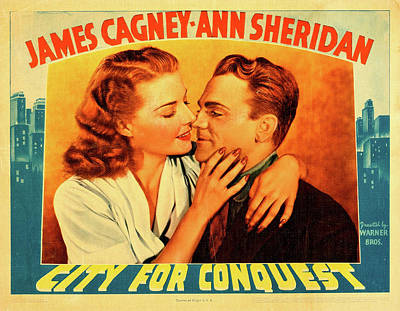 Royalty-Free and Rights-Managed Images - City for Conquest, with James Cagney and Ann Sheridan, 1940 by Stars on Art
