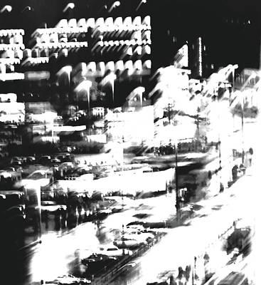 Photograph - City Lights by Miels El Nucleus