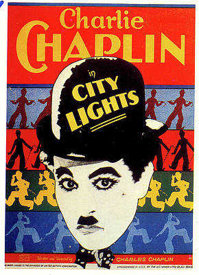 Royalty-Free and Rights-Managed Images - City Lights movie poster 1931 by Stars on Art