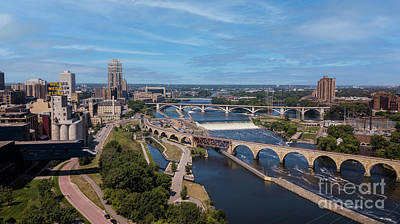 Photograph - City of Bridges by Habashy Photography
