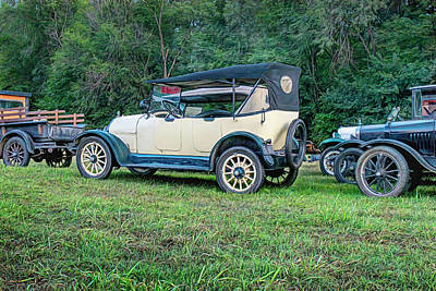 Vintage Movie Stars - Classic Cars Antique Roadsters by Ann Powell