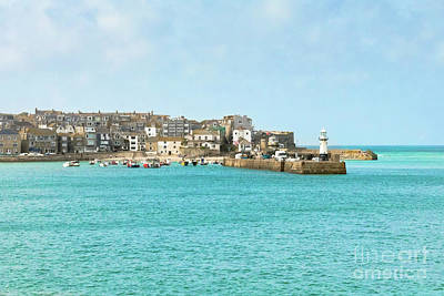 Cargo Boats - Classic St Ives by Terri Waters