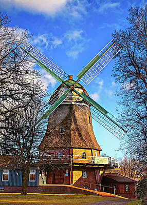 Design Turnpike Books - Classic Windmill in Germany by Tatiana Travelways