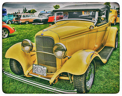 Mellow Yellow - Classic Yellow Ford by Doug Matthews