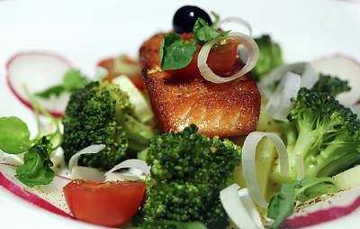 Safari - Classy And Delicious Salmon Dinner by Johanna Hurmerinta