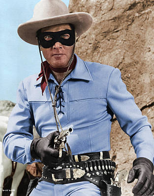 Royalty-Free and Rights-Managed Images - Clayton Moore by Stars on Art