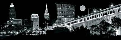 David Bowie - CLE Moon Pano by Frozen in Time Fine Art Photography