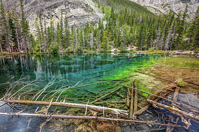 American Milestones - Clear Water of Grassi Lakes by Pierre Leclerc Photography