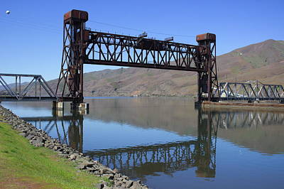 Photograph - Clearwater River Railroad Bridge by Jean Evans