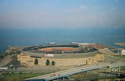 Sports Royalty-Free and Rights-Managed Images - Cleveland Municipal Stadium by Douglas Sacha