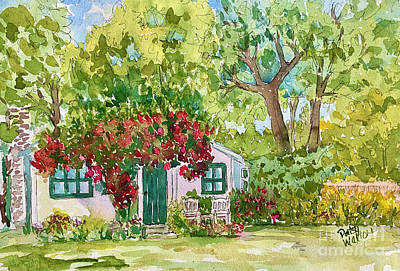Painting - Clint's Guesthouse by Patsy Walton