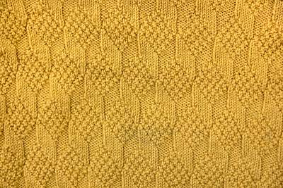 School Teaching - Close-up of pattern of knitting.  by Julien