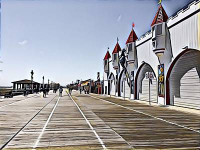 Surrealism Royalty-Free and Rights-Managed Images - Closed for the season by Surreal Jersey Shore