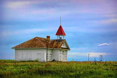 Not Your Everyday Rainbow - Closed Schoolhouse by Susan Buscho